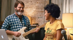 "Offerman and Clemons in Their Film ""Hearts Beat Loud"" // Photo Courtesy of the Montclair Film Festival"