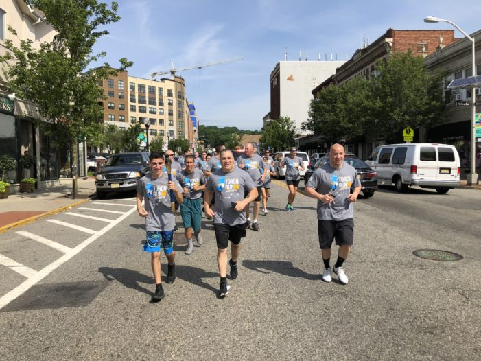The Montclair Police Department Brings the Heat to the Annual Torch Run