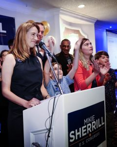 Mikie Sherrill On Election Night // Photo Courtesy of Mikie Sherrill For Congress