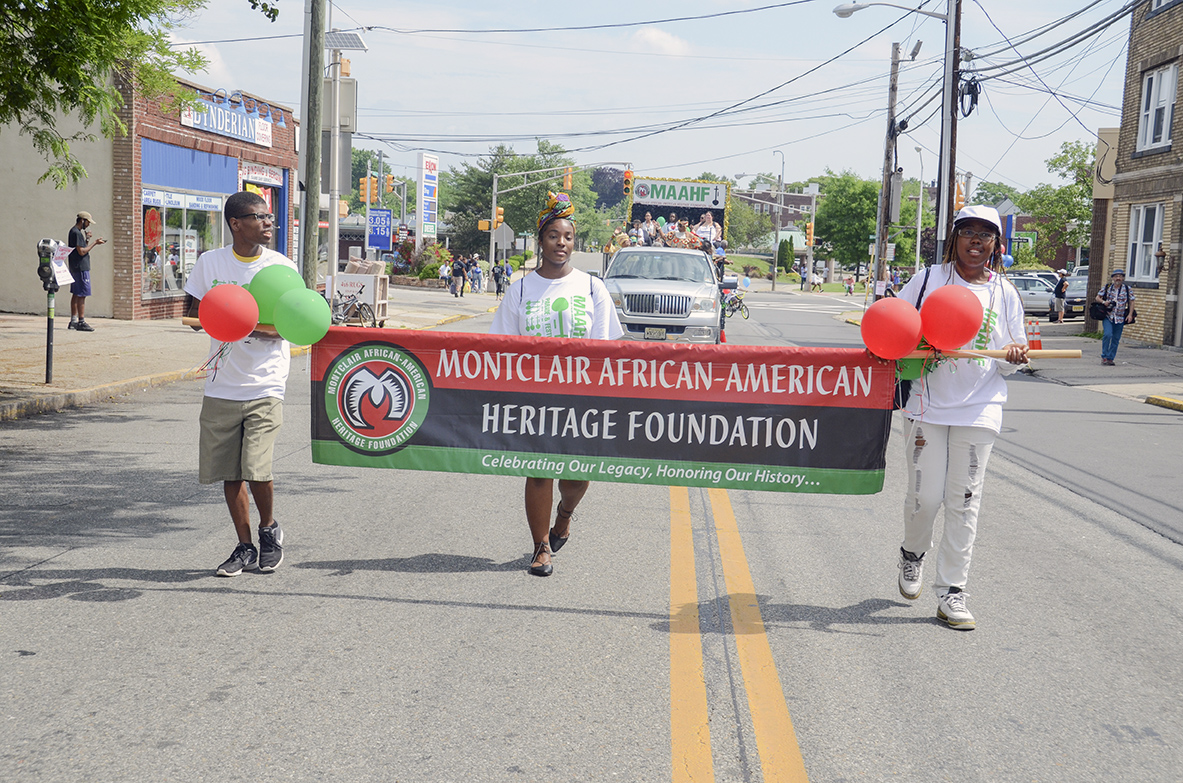 MAAHF Marches Proudly in the Parade // Photo By Raymond Hagans
