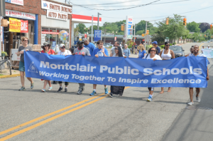 Montclair Public Schools March in the Parade // Photo By Raymond Hagans