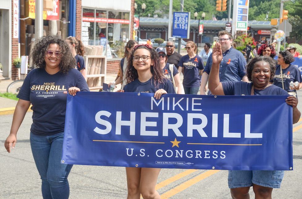 Team Mikie Sherrill was Represented in the 2018 Montclair African-American Heritage Parade // Photo By Raymond Hagans