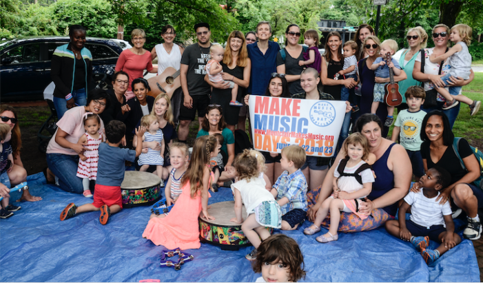 Hitting All the Right Notes–Montclair Hosts Make Music Day 2018