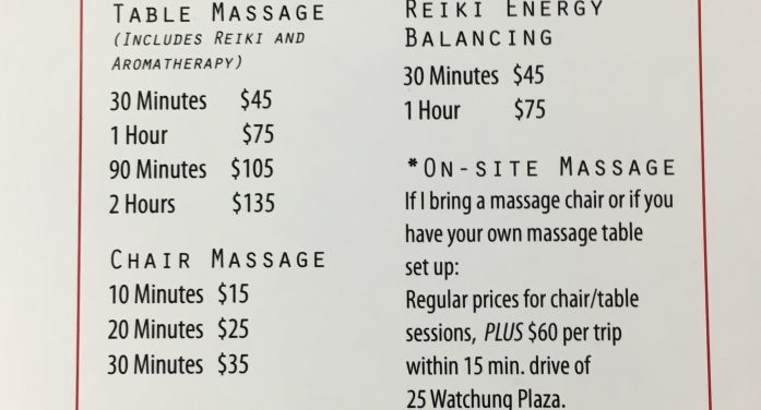 Aches and Pains? Give Montclair Backrub, Massage, and Bodywork a Try!