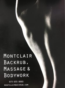 Montclair Backrub, Massage, and Bodywork // Photo Courtesy of Lila Taylor