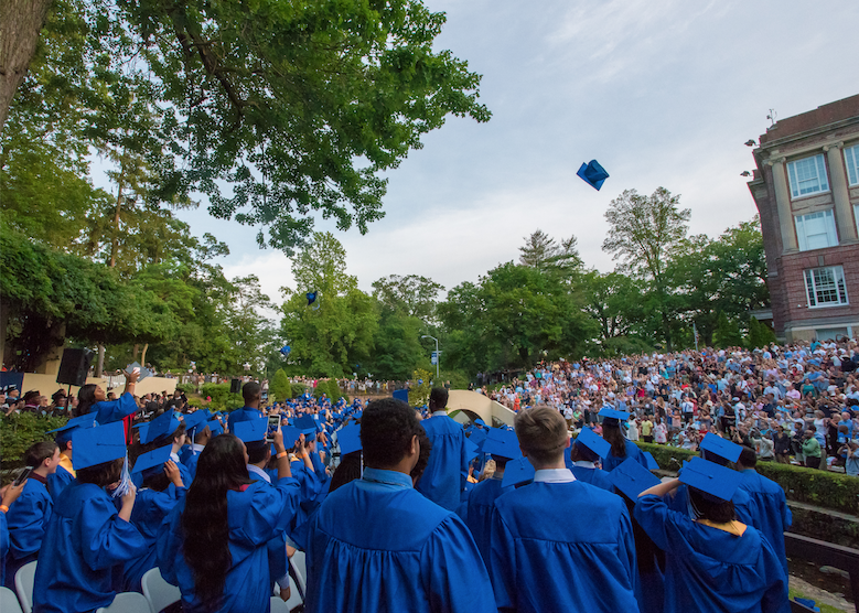 Montclair High School Students Celebrating Graduation, Ready for the Next Step // Photo Courtesy of The Montclair Dispatch